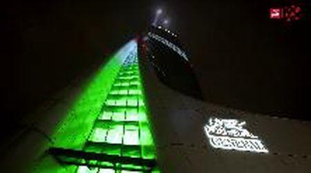 Generali, lo spettacolo della Torre Hadid illumina Milano per i 190 anni della compagnia