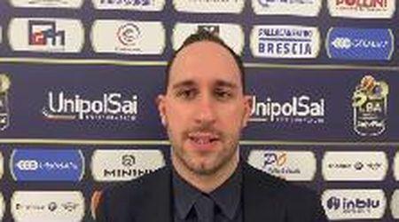 Unahotels, Barozzi commenta la sconfitta contro il Brescia