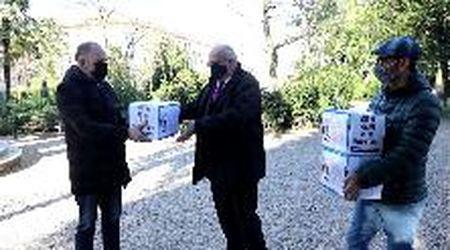 Corso Italia, il video della consegna delle schede al sindaco Ziberna
