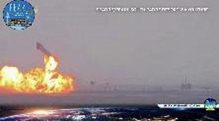 Texas, il test di SpaceX finisce male: il razzo esplode dopo l'atterraggio