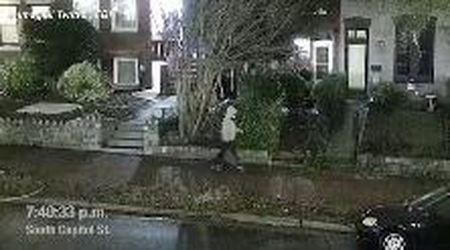 Usa, il momento in cui un uomo piazza delle bombe mai esplose vicino a Capitol Hill