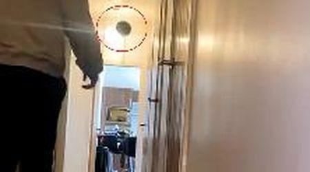 Scozia, il gioco si trasforma in disastro: per fare canestro distrugge il lampadario di casa