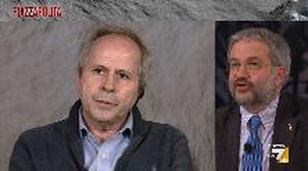 """Piazzapulita, Crisanti contro Borghi: """"Lei non ha capito nulla di epidemiologia"""""""