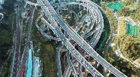 Cina, lo svincolo stradale sembra un labirinto: ha cinque livelli, 20 rampe e otto direzioni