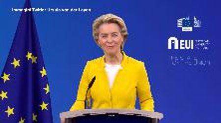 "Coronavirus, Von der Leyen: ""Aveva ragione l'Italia a chiedere intervento Ue"""