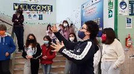 """Palermo, alla scuola media Marconi flashmob su Napoleone con i versi del """"5 maggio"""""""