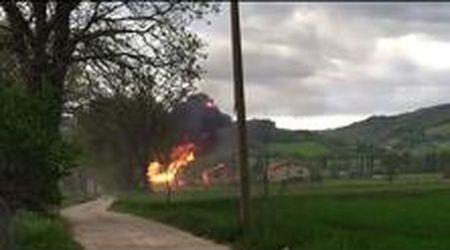 """Gubbio, il momento dell'esplosione: """"Mamma mia"""""""