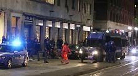 Milano, rissa in zona Ticinese: intervengono polizia e ambulanze