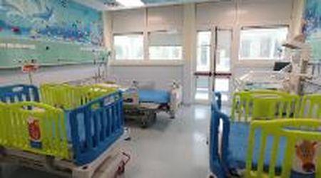 Ecco la nuova terapia intensiva pediatrica di Padova