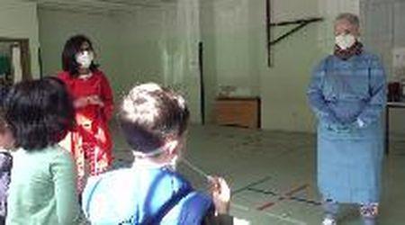 Castiglione: tamponi salivari per i bambini delle scuole