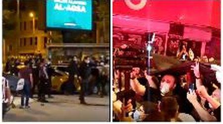 Besiktas campione, poliziotti sparano in aria per disperdere i tifosi turchi in festa
