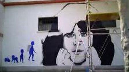 70 anni Baglioni, il timelapse del murale disegnato nel quartiere di Roma in cui è cresciuto