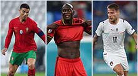 Euro2020, da Ronaldo a Lukaku: i dieci attaccanti in lotta per il titolo di capocannoniere