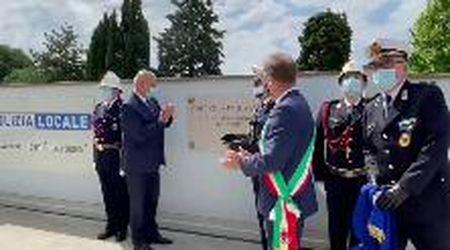 Trieste, la cerimonia della Polizia locale per il 159esimo anniversario e l'omaggio ai caduti