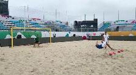 Beach Soccer, l'Italia si allena a colpi di rovesciate alle qualificazioni europee e mondiali