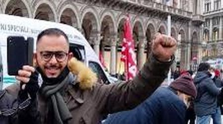 """L'ultimo audio di Abdil prima della manifestazione: """"Venite a Novara"""""""