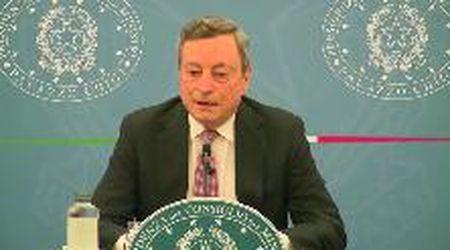 """Vaccini, Draghi: """"La sfida è vaccinare gli over 50, non i dodicenni"""""""