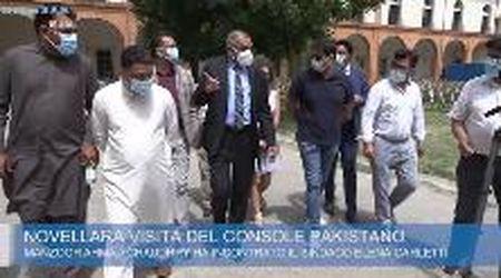 """Novellara, il console Pakistano in visita, """"Massima collaborazione sul caso Saman"""""""