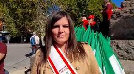 """L'assessora regionale Alessandra Nardini a Roma: """"Sindacati pilastri della democrazia"""""""