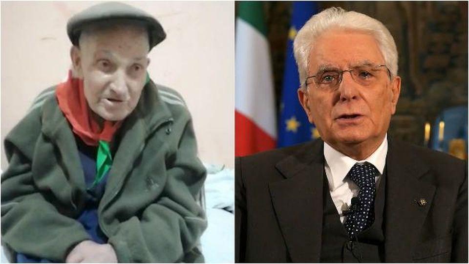 Partigiano 98enne invia un video al Colle, Mattarella si commuove e lo chiama