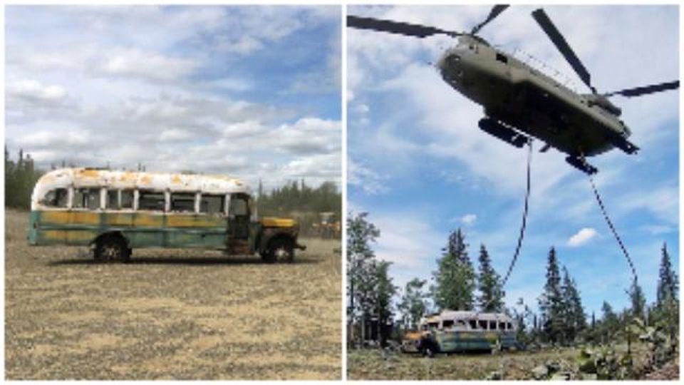 """Alaska, rimosso l'iconico autobus di """"Into the wild"""": """"Troppe vite a rischio, necessario toglierlo"""""""