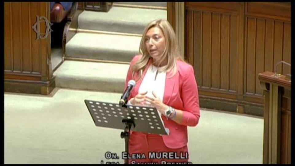 """Elena Murelli (Lega) attacca il governo: """"Per tenervi le poltrone importate il Covid con i migranti"""""""