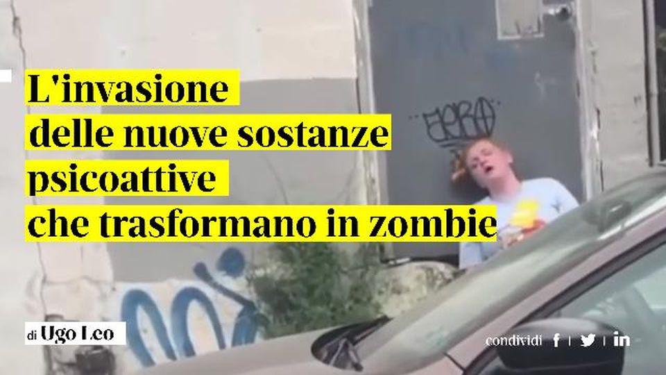 L'invasione delle nuove sostanze psicoattive che trasformano in zombie