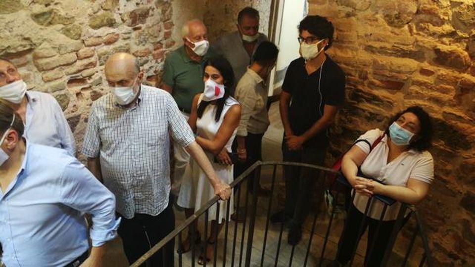 Cuneo, riapre la Reggia del Re in Valcasotto: la visita di Carlo Petrini