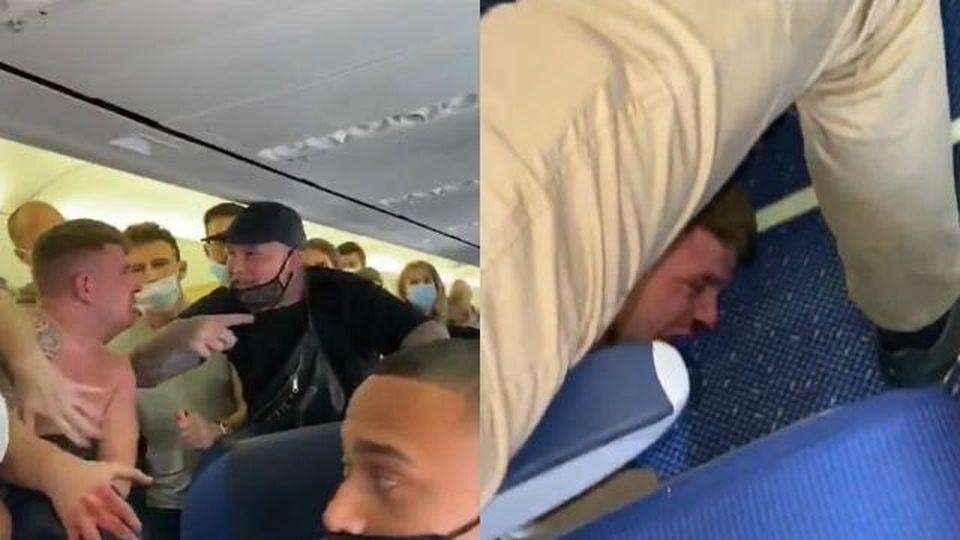 Paura sul volo Amsterdam-Ibiza, due passeggeri ubriachi non vogliono indossare la mascherina: è rissa