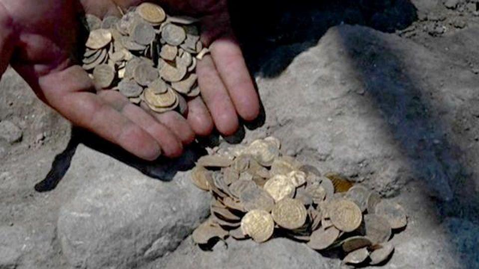 Trovate in Israele 425 monete d'oro puro, un tesoro di più di 1000 anni