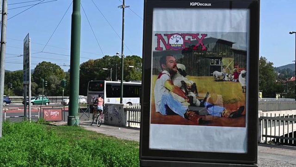"""Salvini e la pecora: ecco cosa significa il manifesto fake, parla il """"Banksy torinese"""""""