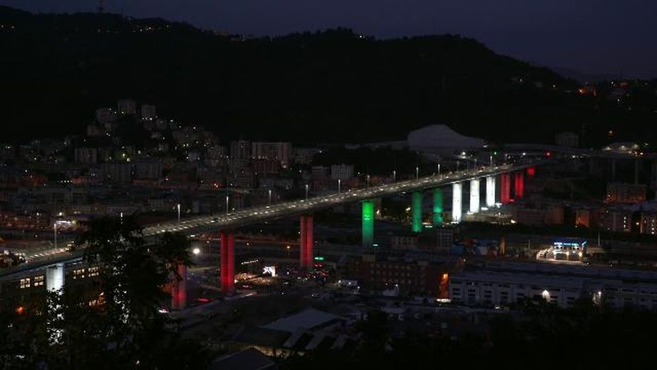 """La ricostruzione del ponte di Genova diventa un film, il racconto di Renzo Piano: """"Un ponte non ha il diritto di cadere"""""""