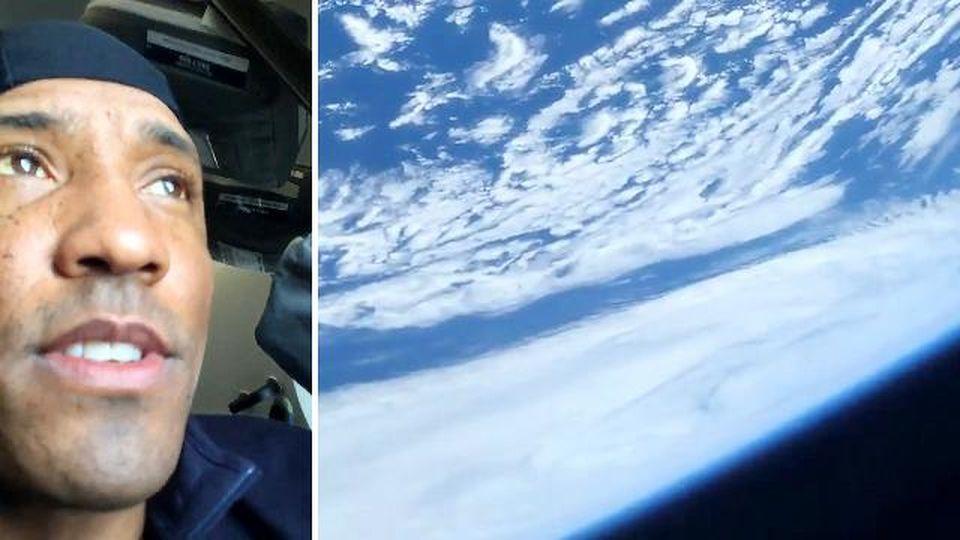 """L'astronauta mostra la Terra vista dalla capsula di SpaceX: """"Prospettiva mozzafiato"""""""