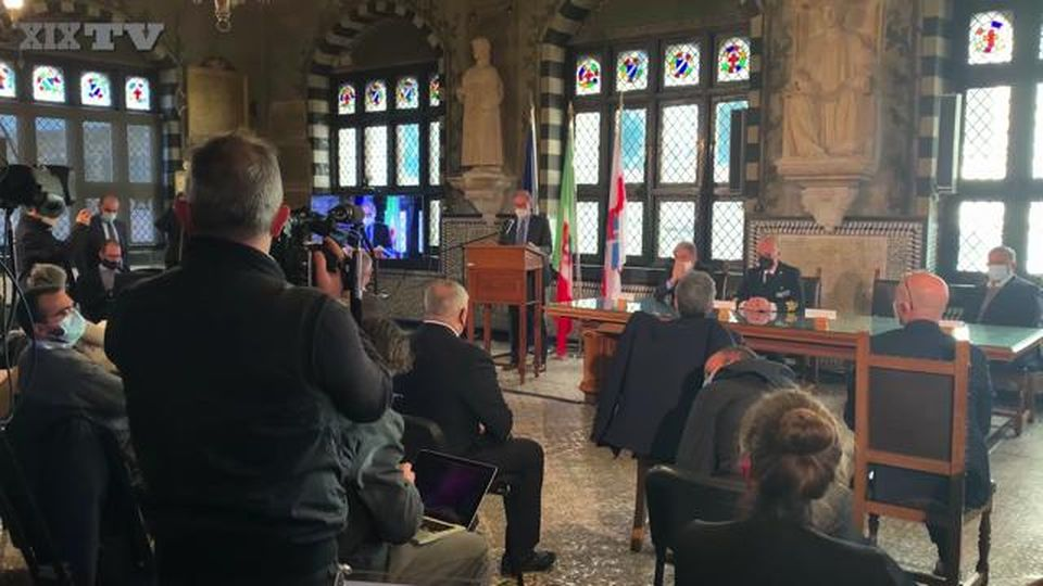 Nuova diga foranea di Genova, inzia il dibattito pubblico