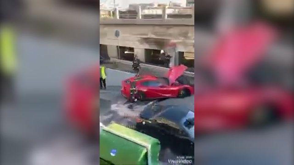 """L'impiegato dell'autolavaggio distrugge la Ferrari da 300 mila euro del portiere del Genoa, Marchetti: """"Conta altro nella vita"""""""