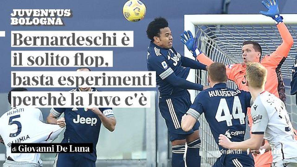 """Giovanni De Luna: """"Bernardeschi è il solito flop, basta esperimenti perchè la Juve c'è"""""""