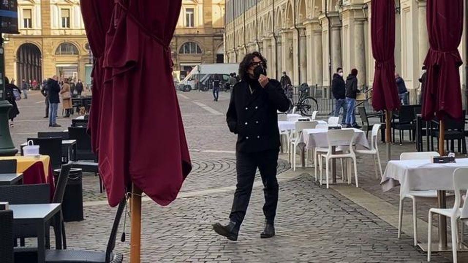 """Alessandro Borghese arriva a Torino per girare una puntata del programma """"Quattro Ristoranti"""""""
