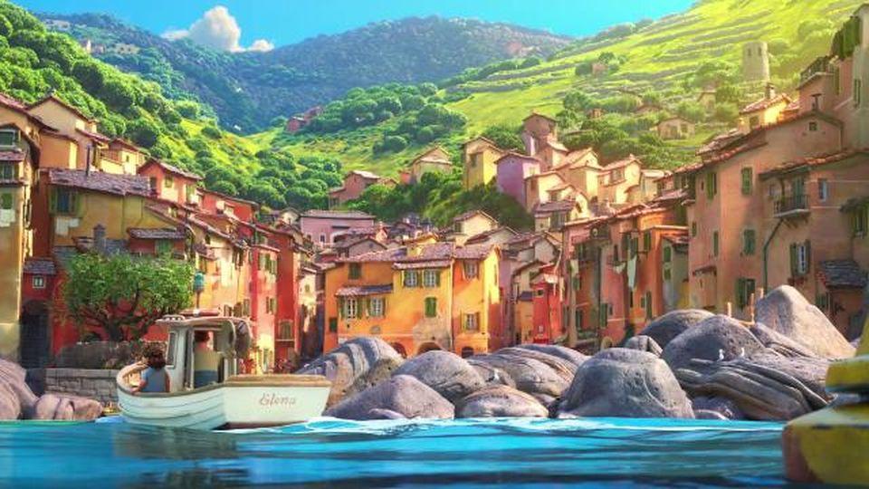 """Ecco il trailer di """"Luca"""" , il cartone Disney ambientato alle Cinque Terre"""