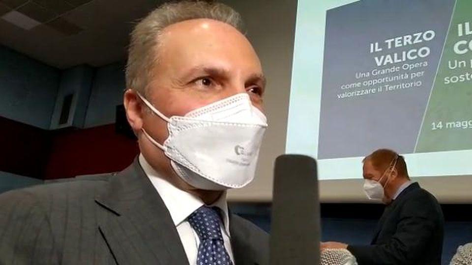 """Terzo valico, il commissario Mauceri: """"Fine lavori prevista nel dicembre 2024"""""""