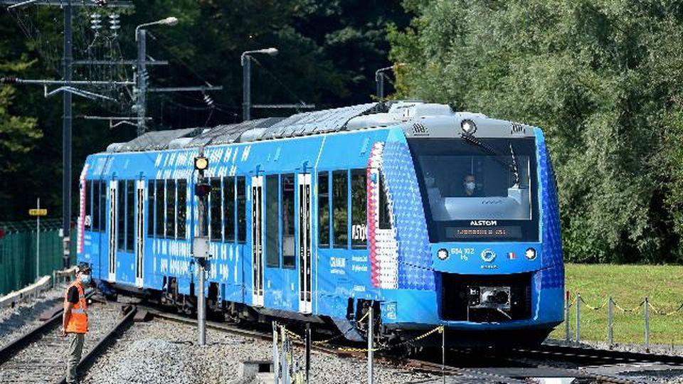 Ecco il treno a idrogeno che arriverà in Italia nel 2023