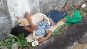 The story of Rommel and Baddi, the humble teacher and their loyal dog