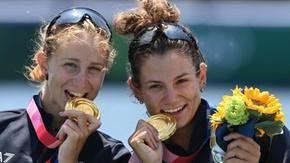 Tokyo : aviron, médaille d'or de l'Italie en double poids léger féminin avec Federica Cesarini et Valentina Rodini