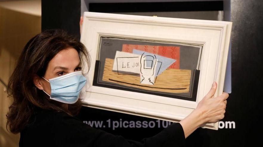Italiana si aggiudica per 100 euro a una lotteria un quadro di Picasso del valore di un milione di euro
