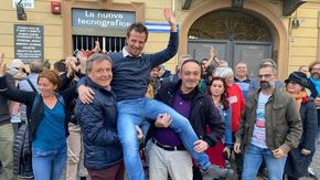 Il grillino Salvai si riconferma sindaco di Pinerolo, determinante l'appoggio del Pd