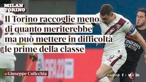 """Giuseppe Culicchia: """"Il Torino raccoglie menodi quanto meriterebbe, ma può mettere in difficoltàle prime della classe"""""""