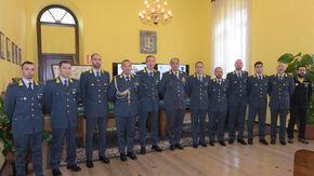 Visita a Cuneo del comandante interregionale della Guardia di finanza
