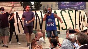 Io Apro, giornalisti presi di mira da frange estremiste a Roma