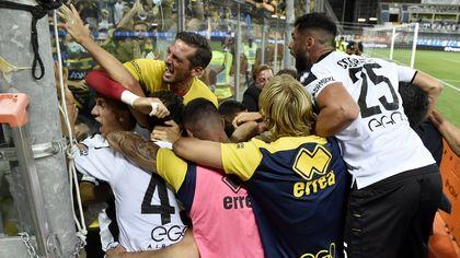 Parma-Benevento 1-0: la fotocronaca