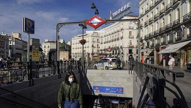 Madrid messa in ginocchio dall'epidemia