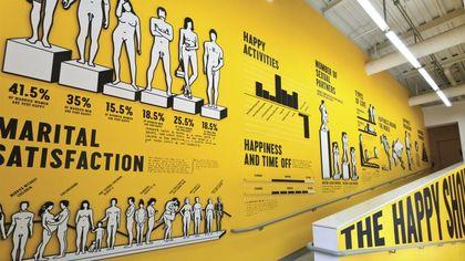 Poster, copertine, documentari, i lavori di Stefan Sagmeister